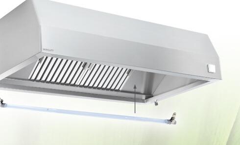 Ventilaciona tavanica za profesionalne kuhinje Südluft
